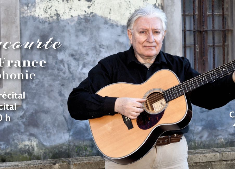 Avant-première du récital «Chansons d'en France et de la Francophonie» à Bilbao (Biscaye) le 4/12/2019